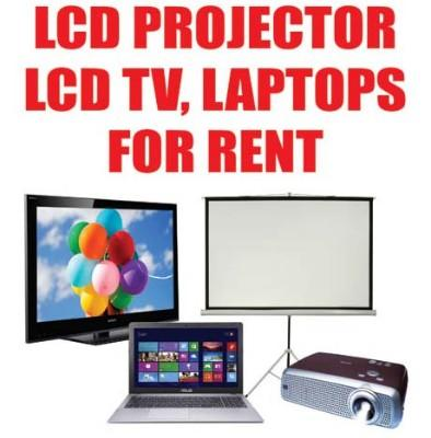 lcd rent